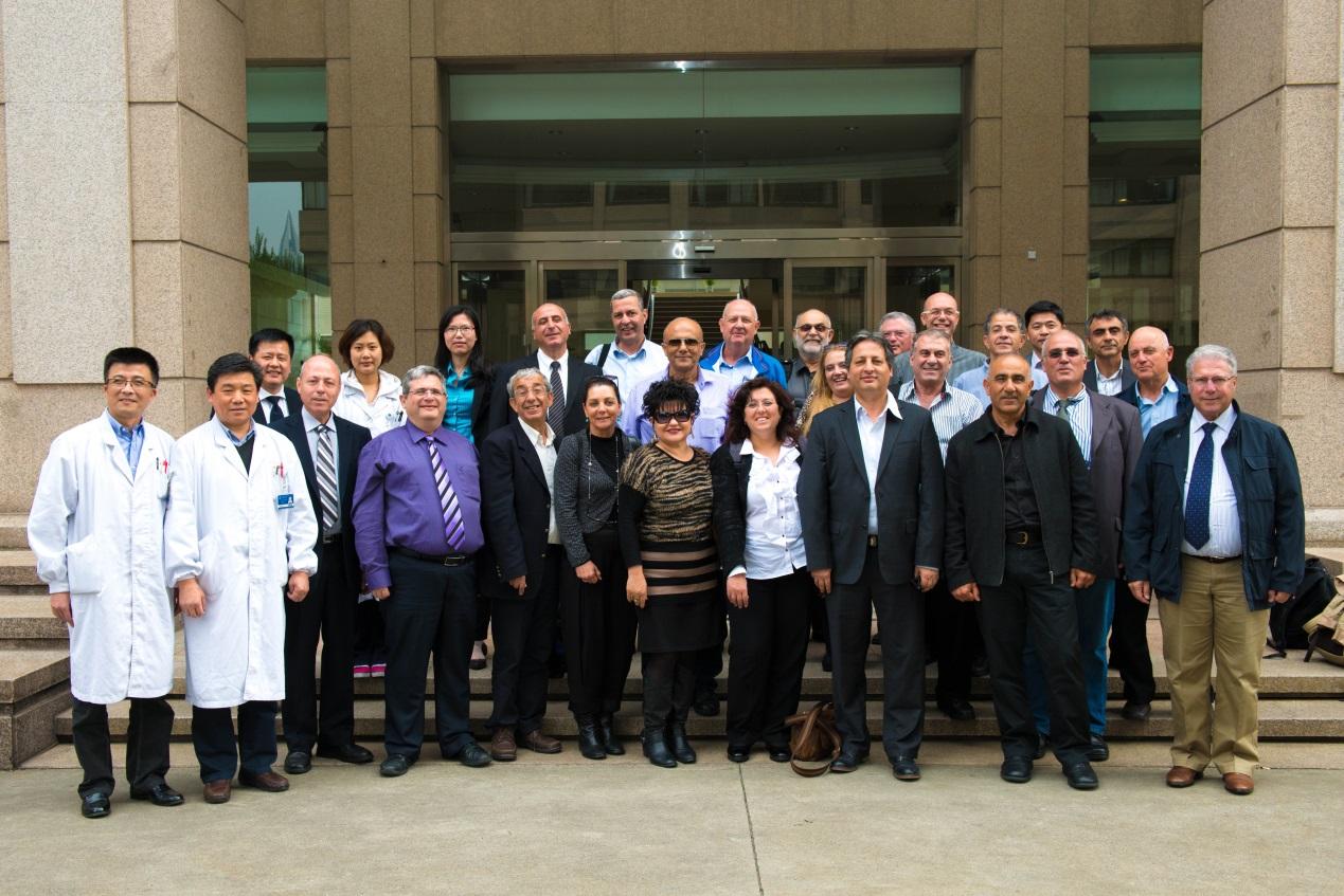 Israel MOH delegation visits AMG