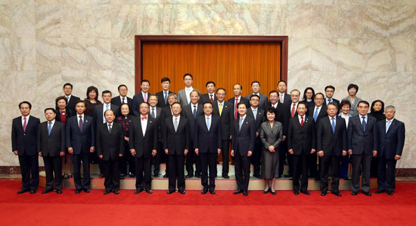 Chinese Premier Li meets prominent Chinese Americans